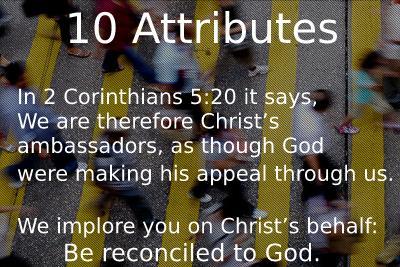 10 Attributes